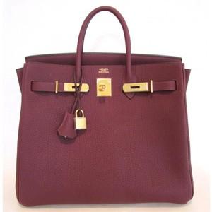 mauve hermes birkin handbag