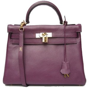 plum purple hermes birkin handbag