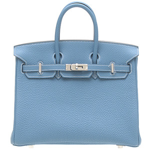 baby blue leather hermes birkin handbag