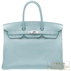 baby blue hermes birkin handbag