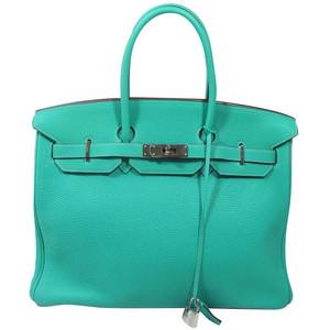 turquoise blue hermes birkin handbag