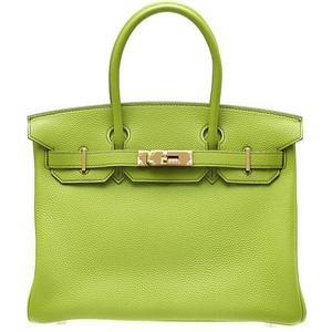 light green hermes birkin handbag