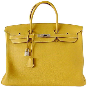 yellow green hermes birkin handbag