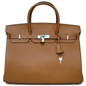 brown hermes birkin handbag