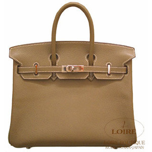 khaki brown green hermes birkin handbag