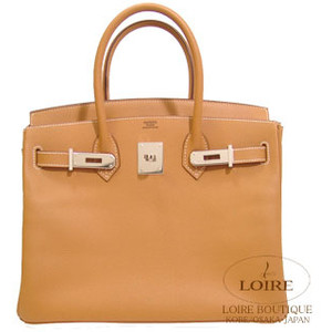 camel brown hermes birkin handbag