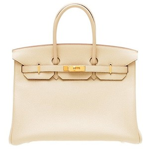 light cream hermes birkin handbag