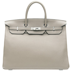 light grey hermes birkin handbag