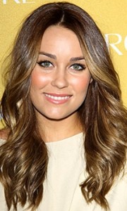 lauren conrad brown and blonde highlights hairstyle