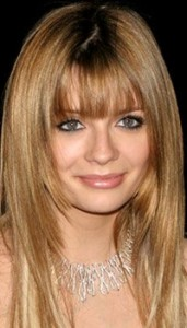 mischa barton light brown straight hair and bangs hairstyle