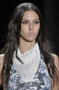 wet hair trend