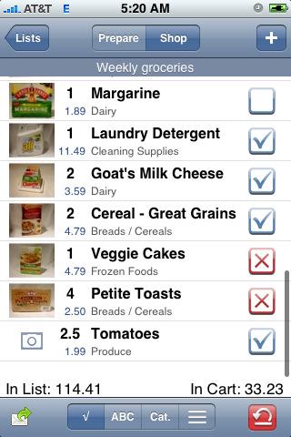 Grocery Gadget App