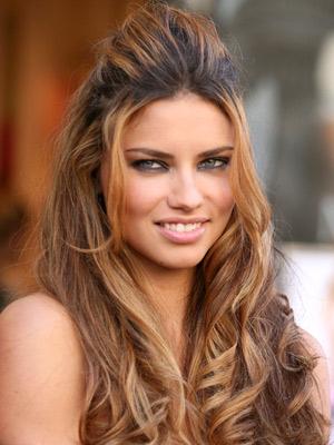 adriana lima hairstyles 2012