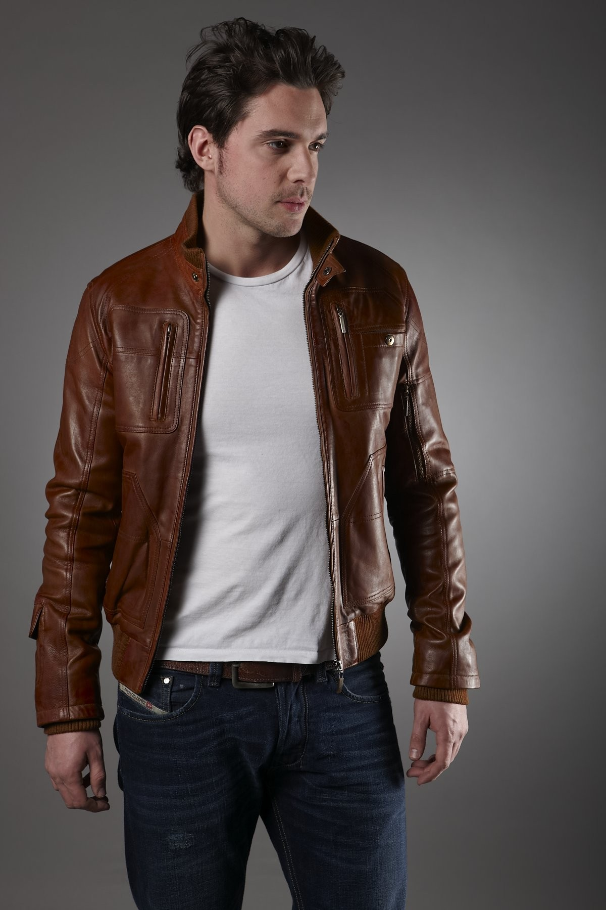 Leather Jackets For Men Span Genres