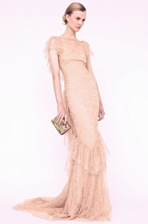 marchesa resort dress photo shoot