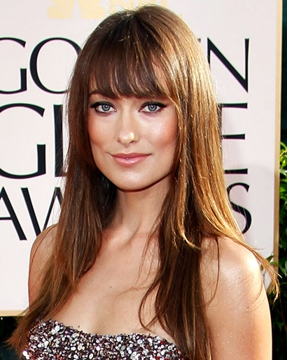 olivia wilde hair bangs