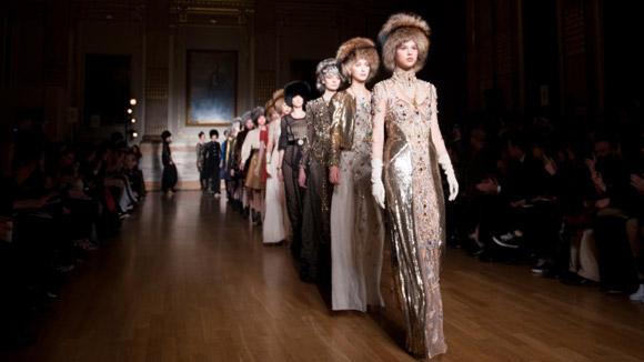 Temperley autumn winter 2012 London Fashion Week