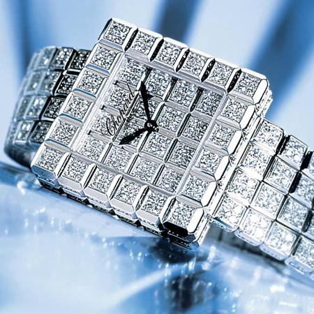 chopard super ice cube watch