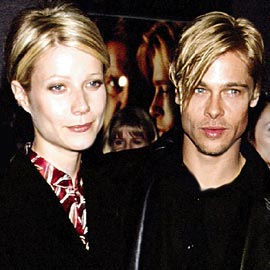 brad pitt took hair cues from girlfriends fashion and