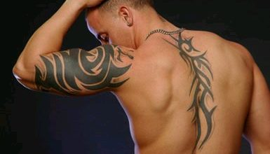 tribal art tattoos