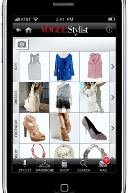 vogue stylist app