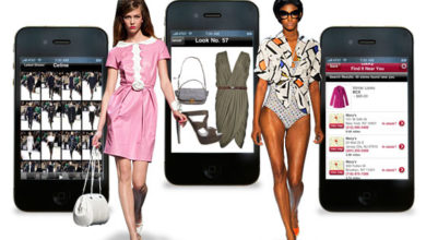 Mobile Apps for fashion