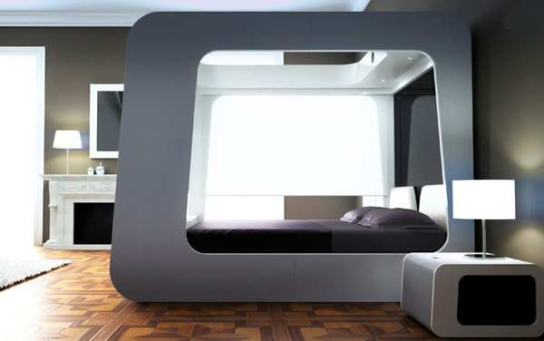 high fidelity canopy bed