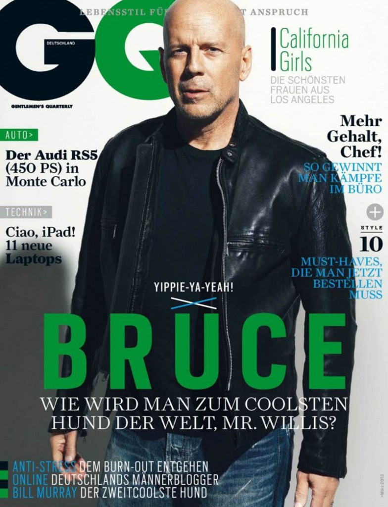 Bruce Willis GQ Germany