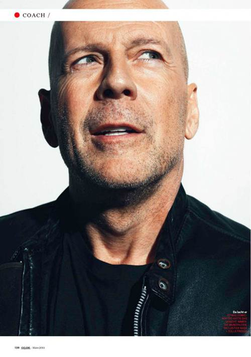 Bruce Willis Photos 2013