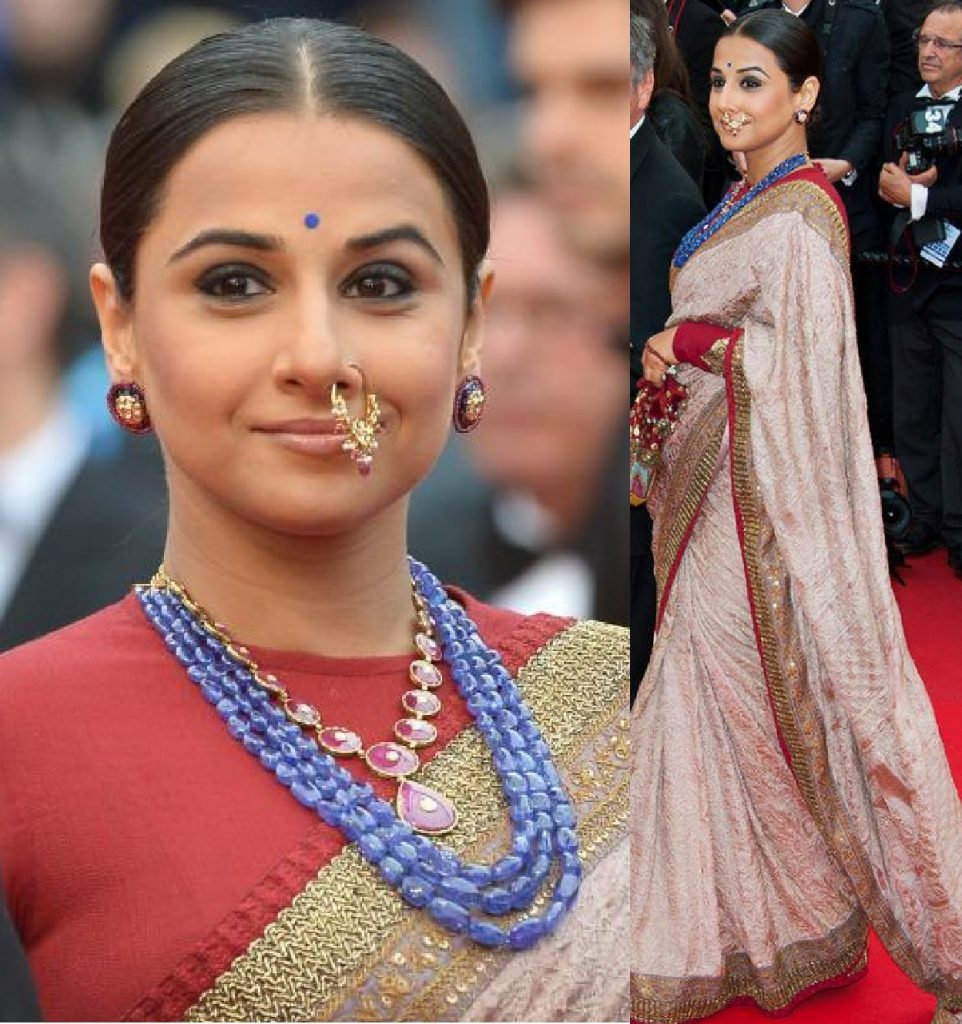 Accessorizing Saree