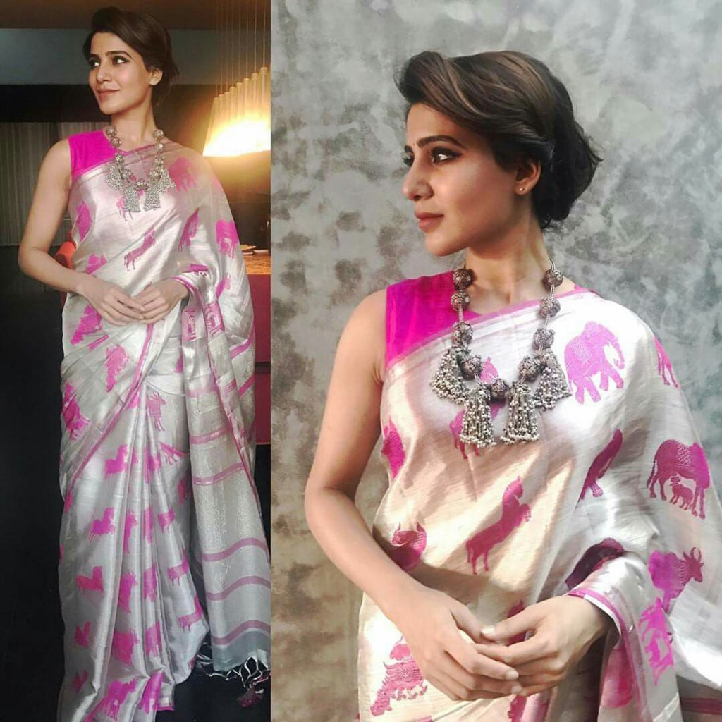 Accessorizing A Saree