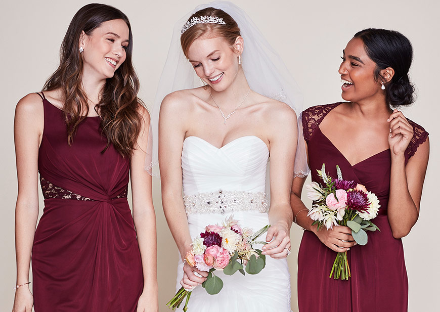 Finding Bridesmaid Dresses