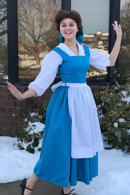 Belle Blue Dress from Beauty and the Beast