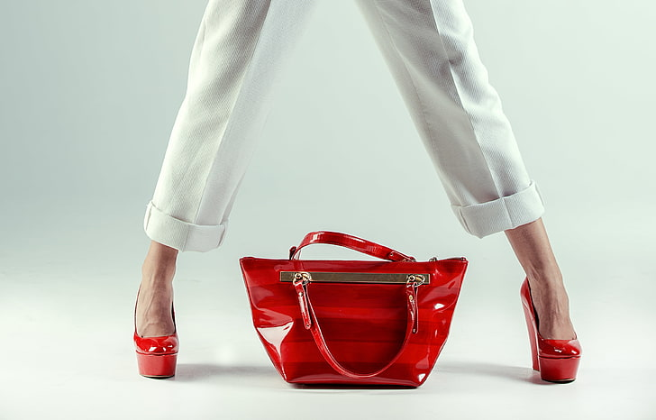 Woman bags and Heels