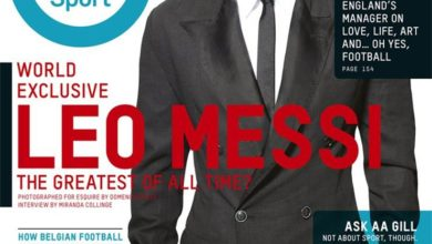 Leo Messi Esquire UK