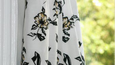 Long Flared Skirt