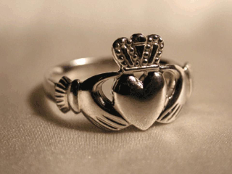 The Traditional Irish Claddagh Represents Love Loyalty
